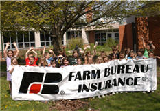 Farm Bureau Insurance sponsors All Children Exercising Simultaneously (ACES) With-a-Friend