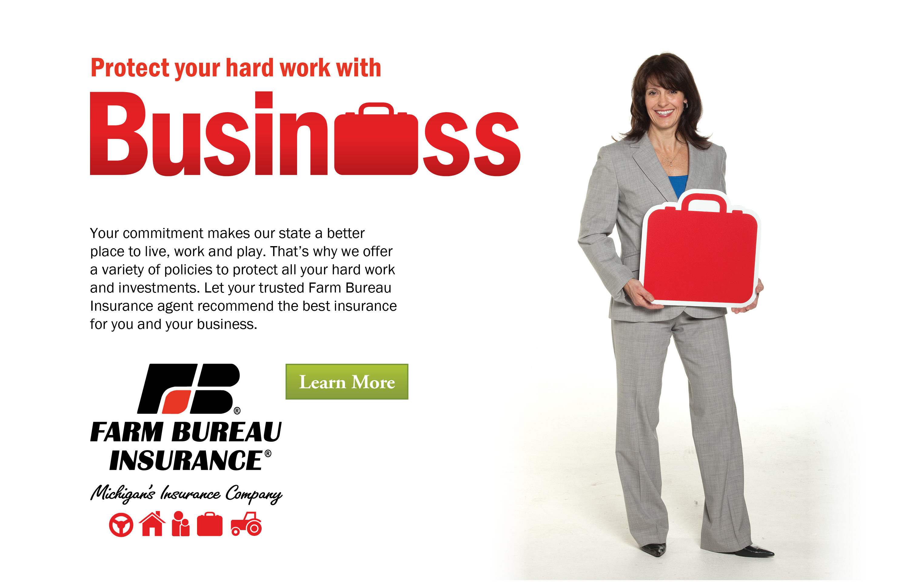 Protect your hard work with business insurance.